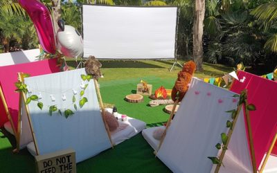 Going Wild in Sotogrande with teepee party jungle mania!